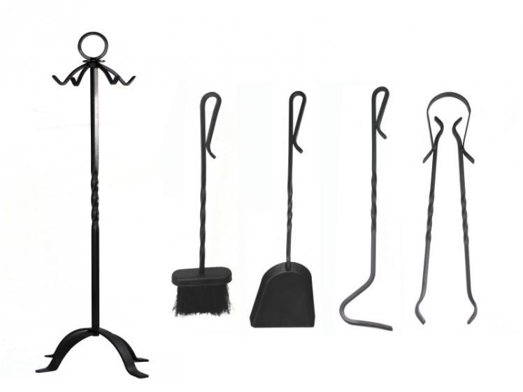Fpa juego 4 accesorios para chimenea - Accesorios para chimeneas ...