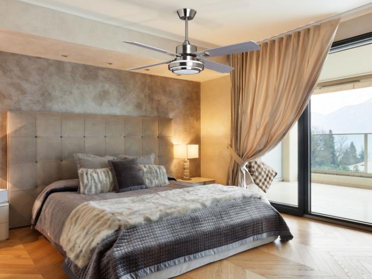 Blizzard ventilador de techo con luz y mando a distancia - Ventilador de techo con mando a distancia ...