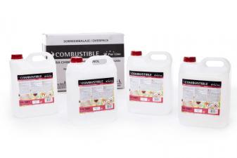 Caja Combustible de origen natural líquido 4 Garrafas 5L LIQ-20N