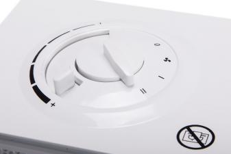 calefactor con 2 potencias y termostato ajustable2821