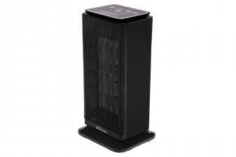 Calefactor cerámico de torre con termostato y mando a distancia