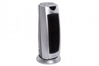 Calefactor cerámico de torre con termostato
