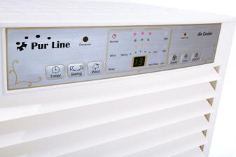detalle del panel de control del climatizador evaporativo1376