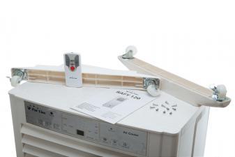 el climatizador evaporativo incluye mando a distancia, ruedas, tornillos y manual de instrucciones1378