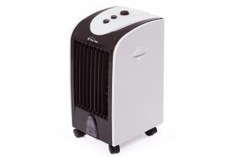 Climatizador Evaporativo compacto con lamas oscilantes y ruedas