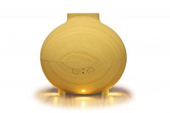 Difusor de aroma con luz LED cálida