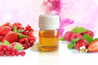 Frasco de aroma frutos rojos para difusor