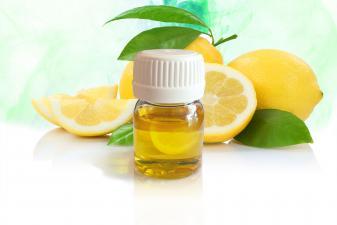 Frasco de aroma limón para difusor