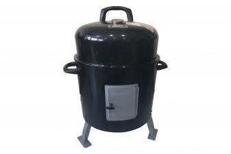 Ahumador con tapa y grill EFP69