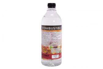 Caja 12 botellas de combustible para biochimeneas aroma leña LIQ-WOOD