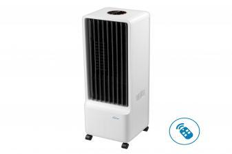 Climatizador Evaporativo con sistema de enfriado permanente del agua