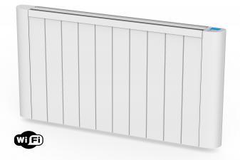 Emisor térmico de inercia digital con placa cerámica interna 1800W y control WIFI