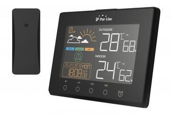 Estacion meteorologica con sensor exterior y salidas USB