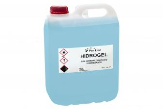 Garrafa 5L gel hidroalcohólico higienizante - HIDROGEL 5L
