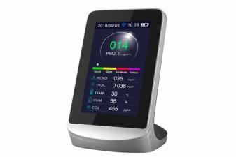 Medidor calidad del aire con 8 funciones y control WIFI - AIRTESTER PLUS WIFI