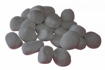 Piedras decorativas para biochimeneas color gris