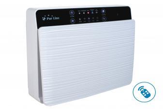 Purificador de Aire filtro HEPA, Carbón Activo e Ionizador